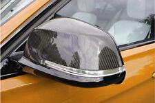 Fibre de carbone aile miroir trim set couvre bouchons pour BMW Série 1 F20 F21 2011 +