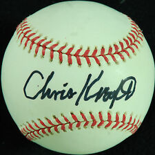 Christopher Kraft (NASA Engineer) Single-Signed OAL Baseball (PSA/DNA)