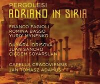 Pergolesi: Adriano in Siria, Capella Cracoviensis, Dilyara Id, Audio CD, New, FR