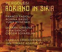 Pergolesi: Adriano in Siria, Capella Cracoviensis, Dilyara Id, Audio CD, New, FR