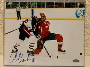Alena Blahoski Signed Team USA 8x10 Photo Steiner