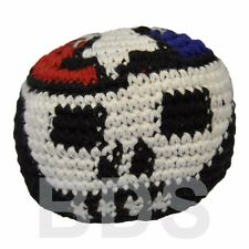 Grateful Dead Skull Guatemalan FootBag Hacky Sack New Sport Foot Bag HS26
