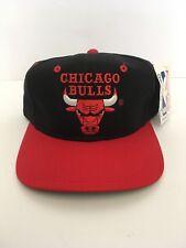 RARE Vintage NWT Chicago Bulls Drew Pearson 90s Snapback Hat Cap JORDAN