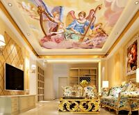 3D Angel Musical Instrument 8 Wall Paper Wall Print Decal Wall Deco AJ WALLPAPER