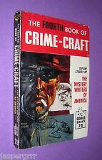 1959. THE FOURTH BOOK OF CRIME-CRAFT. 1st EDITION CORGI BOOKS PAPERBACK