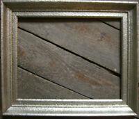 ::ANTIK BILDERRAHMEN °FALZ  32,5 cm x 40,5 cm  AUßEN 42 cm x 49,5 cm Silber