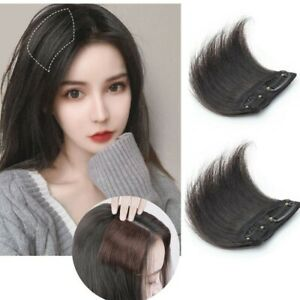 2pcs Hair Volume Increase Pieces Toupees Clip In Thinning Loss Hair Extensions