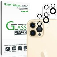 Apple iPhone 12 Pro Max Glass Screen Protector for Back Camera Lens (3 Pack)