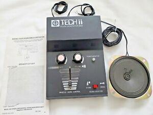 MRC Tech II-Tech 2 Model Train Sound Generator Model 8000 Steam/Diesel-Tested
