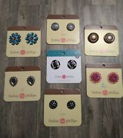 New Lindsay Phillips Interchangeable Snaps Snap Shoe Charms Set Lot One Size