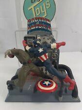 Vintage 1998 Toy Biz Model Kit - Marvel Captain America & Red Skull - COMPLETED