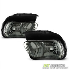 Smoked 2003-2006 Silverado Avalanche Bumper Fog Lights Lamps+Bulbs Left+RIght