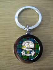 FLETCHER CLAN KEY RING (METAL) IMAGE DISTORTED TO PREVENT INTERNET THEFT