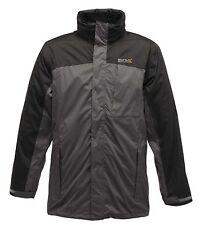 Regatta Hamond Mens Waterproof Breathable Isotex Warm Winter 3in1 Jacket Grey L
