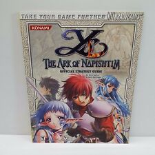 YS: THE ARK OF NAPISHTIM (SONY PLAYSTATION 2) STRATEGY GAME GUIDE (T60)