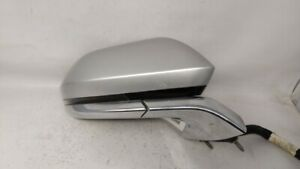 2013-2014 Lincoln Mkz Passenger Right Side View Power Door Mirror Silver 79849