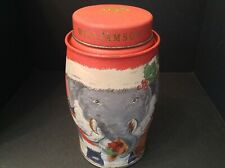 More details for williamson collectable ltd edn christmas elephant tea caddy tin 'empty'
