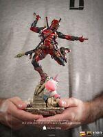 Iron Studios 1:10th MARCAS33420-10 Deadpool Figure Statue Collectible Presale