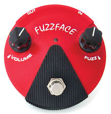 Jim Dunlop Germanium Fuzz Face Mini FFM2 Guitar Effects Pedal - Red