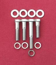 Rover Pompe À Huile V8 Boîtier à filtre en acier inoxydable Capuchon Tête Boulons