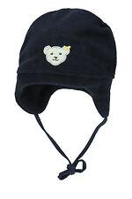 STEIFF® Fleece Binde-Mütze Zipfelmütze Marine Mädchen Junge Gr.41-55 Basic NEU!