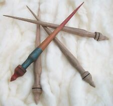 Original Russian spindle . Support spindle. Russian craft. Siberian spindle.