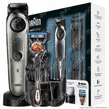 Braun Regolabarba Bt7040 Rasoio Barba elettrico e Tagliacapelli con Rifinitore