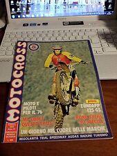 MOTOCROSS #2 1976 PROVA: ZUNDAPP 125 GS  ROND SACHS 50 SPECIAL