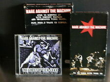 RAGE AGAINST THE MACHINE CD Maxi Ghost of Tom Joad + K7 VHS Concert+clips 501602