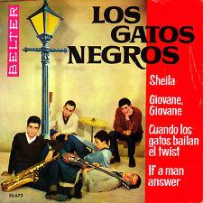 EP los GATOS NEGROS sheila + 3 SPANISH BELTER 1963 R'N'R BEAT