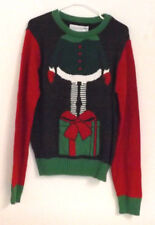 Uncle Ralph Men's Large Christmas Elf Sweater. Colorful. New with Tags.