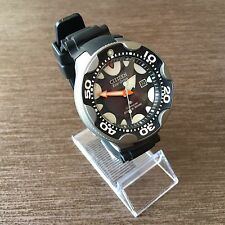 Citizen ORCA Titan Titanium schwarz Promaster Aqualand BN0015-15E BN0015-07E