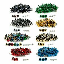 20pcs 10mm Colour Safety Eyes For Teddy Bear Doll Animal Puppet Crafts Plastic E