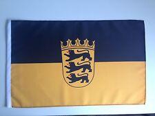 Fahne Flagge Baden-Württemberg 30x45 cm mit Schaft
