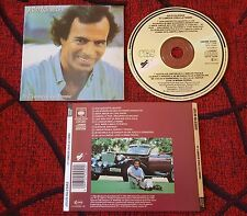 JULIO IGLESIAS **Et L'Amour Crea La Femme** SCARCE 1982 CD **SUNG IN FRENCH