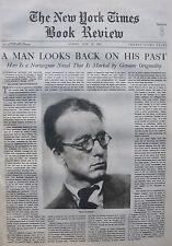 HUXLEY GWTW ADVERT AKSEL SANDEMOSE A FUGITIVE CROOSSES HIS TRACKS 1936 July 12