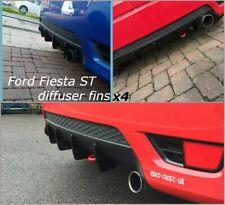 Ford Fiesta Mk6 Diffuser Fins