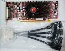 VisionTek AMD HD 5570 1GB VHDCI to Quad HDMI PCIe X16 Windows 10 Video Card SFF