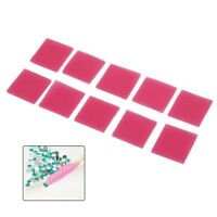 10Pcs Nail Art Rhinestone Picker Gel Cube Gel Gem Picker Nail Dotting Tool InZ0H