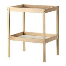 Table à langer sniglar hêtre/blanc 72x53 cm