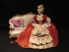 Belle O' The Ball Hn1997 Royal Doulton & Co Vintage Figurine 1948 Green Hallmark