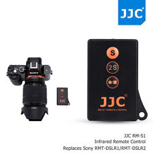 JJC Wireless Remote Control fr Sony A9 A7 III II A7S A7R A99 A77 as RMT-DSLR 1 2