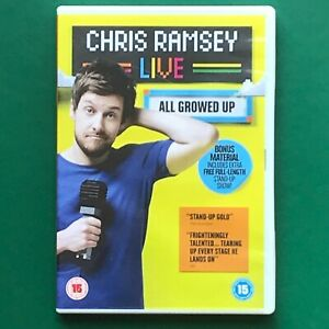 Chris Ramsey Live All Growed Up DVD Comedy (stand up comedy)