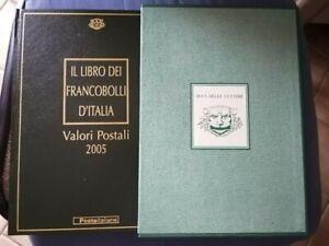 Il Libro dei Francobolli d'Italia - Valori Postali 2005 - Buca delle Lettere