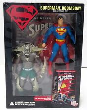 DC Direct Superman Vs Doomsday The Death of Superman Collector Action Figure Set
