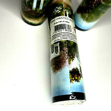 """Pre-Pasted Wall Paper Border Country Garden Cottage Scene 6"""" X 4 Yard Roll NoS"""