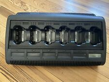 New listing Motorola Xts Impres Adaptive Rack Charger Wpln4127Ar - Latest Apx Firmware V3.11