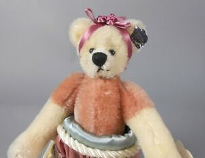 Annette Funicello Chantilly Mohair Bear in Christmas Stocking
