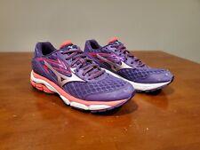 Mizuno Wave Inspire 12 Women's Athletic Running Shoes Purple/Pink Size 8.5 EUC