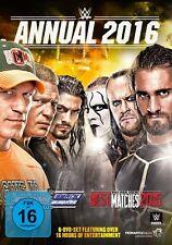 WWE Annual 2016 6x [DVD] *NEU* DEUTSCH Best of Raw, Smackdown & PPV Matches 2015